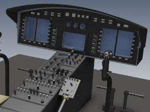 Bell 412 Glas 1