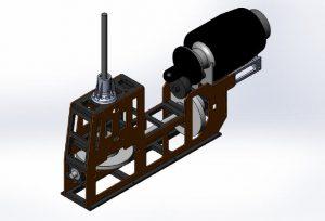 HF Mechanik Gazelle-Blue Thunder für PRO Turbinen 1