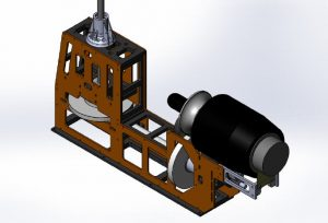 HF Mechanik Gazelle-Blue Thunder für PRO Turbinen 2