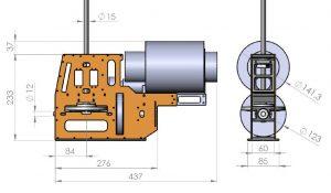 HF3-3 Mechanik für PRO X 1