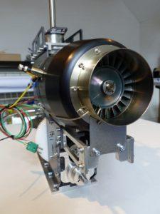 HF3-3 kurz Mechanik für PRO Turbinen 10