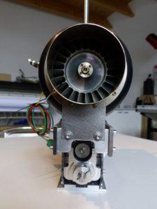 HF3-3 kurz Mechanik für PRO Turbinen 7