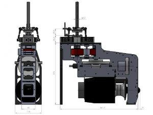 HF3-XL Mechanik für PRO Tubinen 4
