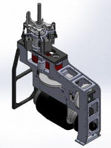 HF3-XL Mechanik für PRO Tubinen 5