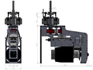 HF3-XL Mechanik für PRO Tubinen 6
