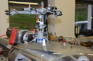 Rotorkopf Lama & Alouette III 7